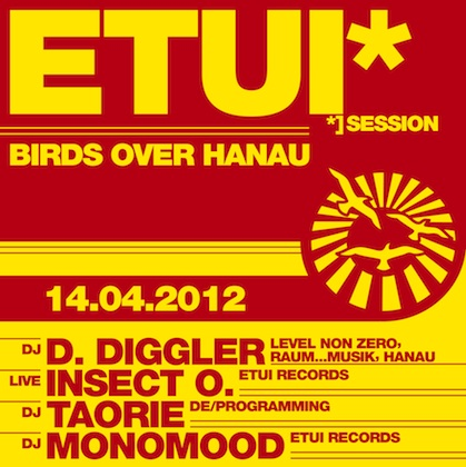 Etui Session 4: Birds Over Hanau with D. Diggler at Sabotage Dresden on April 14th 2012