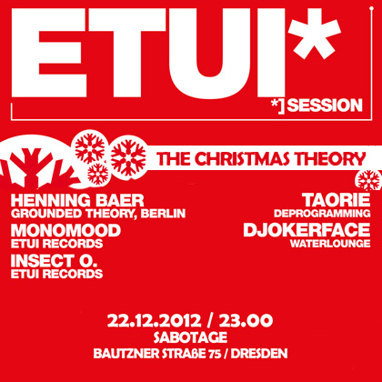 Etui Session - The Christmas Theorie /w Henning Baer