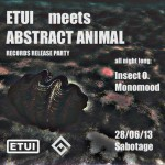 Etui meets Abstract Animal at Sabotage