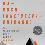 DJ Rush & Monomood at Club Zooma Plauen on Oct 26th 2013