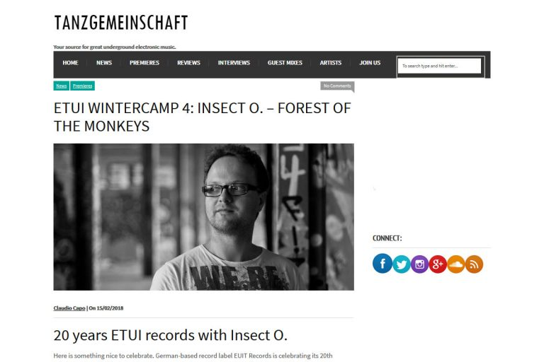 Tanzgemeinschaft Premieres Insect O. - Forst Of The Monkeys