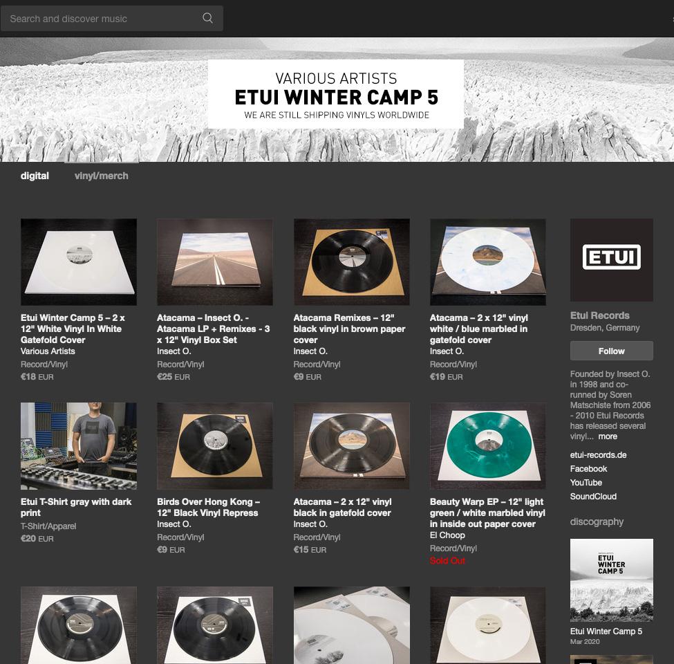 Coronavirus - We Still Shipping Vinyls