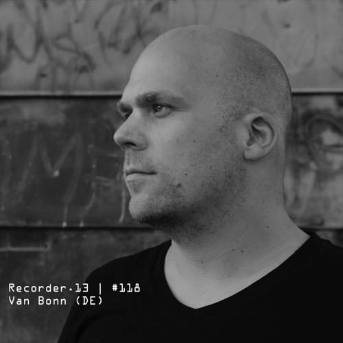 Van Bonn mixes podcast for recorder.13